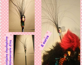 Pique cheveux plumes Kimmi