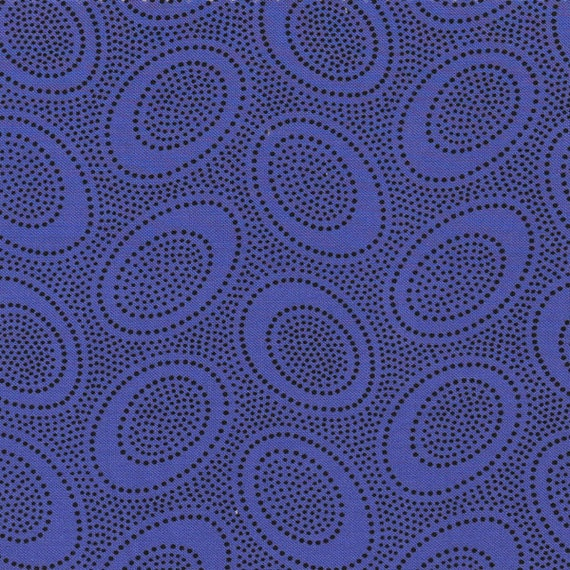 ABORIGINAL DOT Periwinkle GP71  Kaffe Fassett Sold in 1/2 yard increments