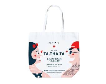 Tathata shopping bag, grocery bag, tote bag