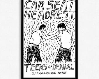 Car Seat Headrest - Teens of Denial Poster (11x17)