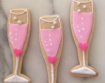 "Champagne ""Bubbly"" Cookies"