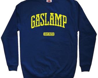 Gaslamp San Diego Sweatshirt - Men S M L XL 2x 3x - Crewneck, Gift For Men, Gift for Her, Gaslamp Sweatshirt, Gaslamp Quarter, SD California