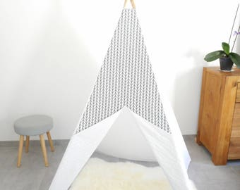RESERVED, teepee, play tent, decoration for bedroom teepee, montessori, kids teepee, Indian tipi, teepee decor for child, graphic