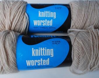 2 skeins Kenloft knitting worsted