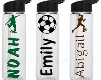 Soccer Gifts | Soccer water bottle | Personalized Soccer bottle | Soccer  Team Gift | Soccer Player Gift | Soccer Camp water bottle
