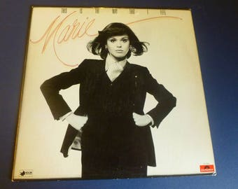 Marie Osmond  This Is The Way That I Feel Vinyl Record LP PD-1-6099 Polydor Records 1977