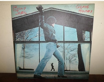 Vintage 1980 LP Record Billy Joel Glass Houses Columbia Records Near Mint Condition 13120