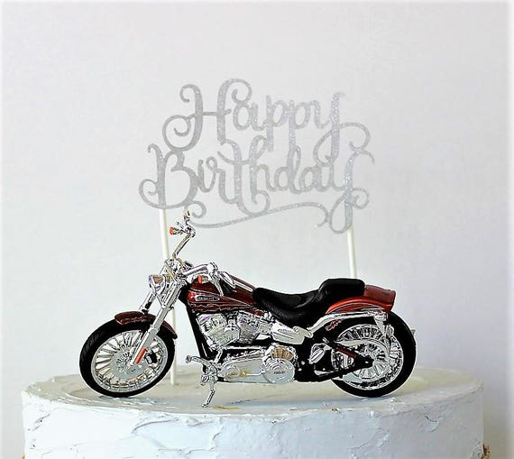 How To Make Motorcycle Cake Topper