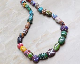 Bohemian Clay beads
