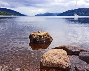 Loch Ness, Scotland Photograph, Landscape Photography Print
