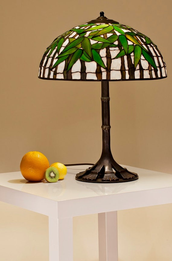 Asian lamp bamboo lamp shade asian decor bamboo light like this item aloadofball Image collections