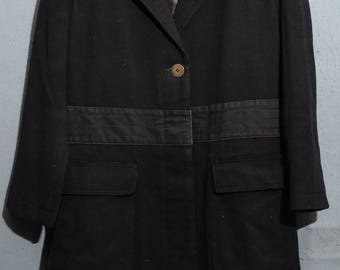 ARMANI-Coat of arms vintage casual TG 42 (gd508)