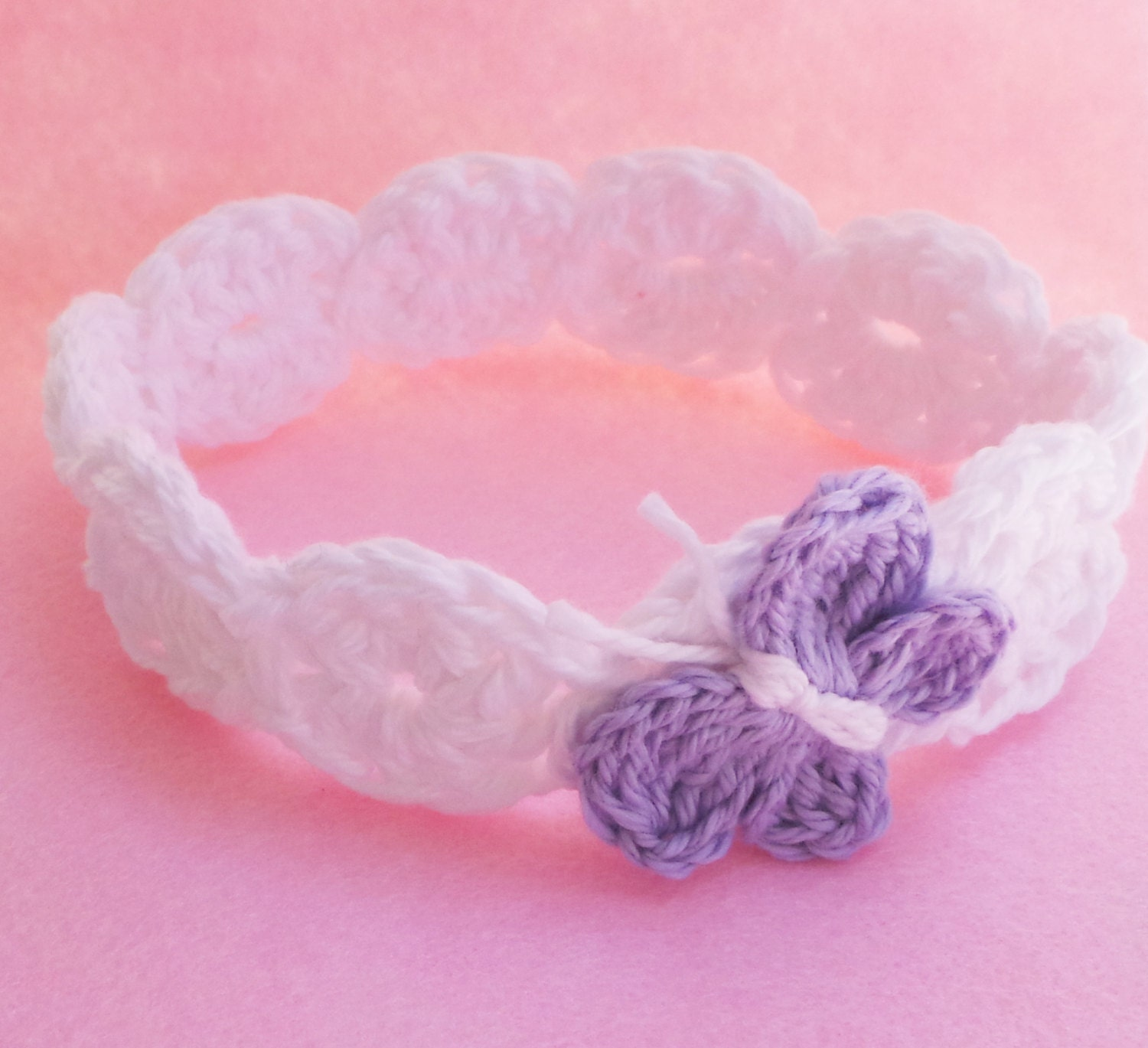 CROCHET HEADBAND PATTERN Baby headband pattern Girls headband ...