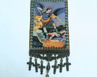 St Michael Archangel Tapestry