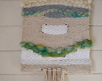 Sea and Sand Woven Textile