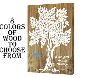 Guest Book Tree, Wedding Guest Book Tree, Personalized Wedding Guest Book, Wood Wedding Guest Book, Wedding Guest Book Alternative