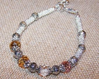 Mothers Bracelet, Mothers Birthstone Bracelet, Birthstone Jewelry, Swarovski Birthstone Bracelet