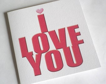 I Love You...Oh Yes I Do Card