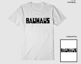 Bauhaus retro T shirt
