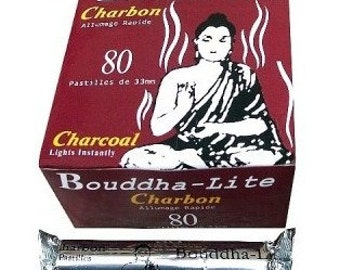 Charcoal roll of 10 tablets (BOUDDHA-LITE)