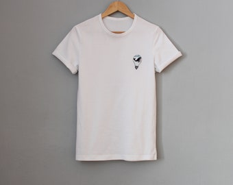 """T-shirt with embroidery """"whale"""""""