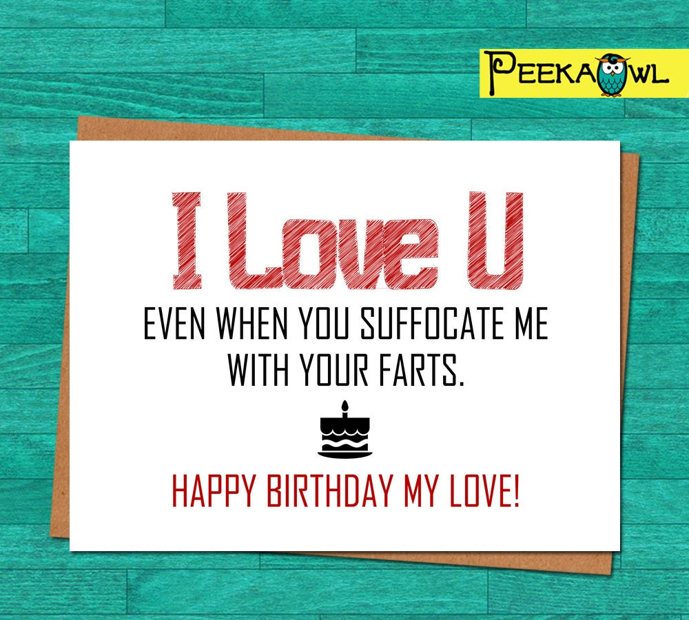 Birthday Wishes For Boyfriend And Boyfriend Birthday Card: Instant Download Funny Birthday Card Boyfriend Husband