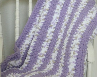 Striped Baby Blanket - Many Colors Available