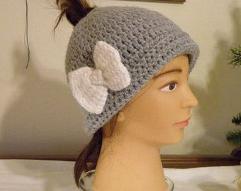 MESSY BUN HAT Suitable for Many Occasions!!