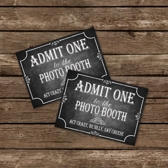 photo booth ticket template - Boat.jeremyeaton.co