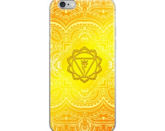 Solar Plexus Chakra iPhone Case