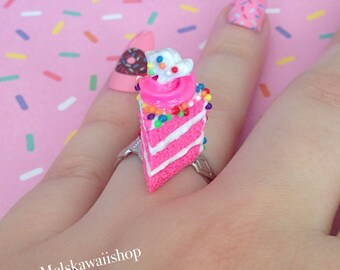Circus Animal Cookie Cake Slice Ring