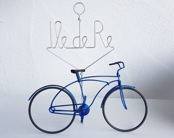 Miniature bicycle beach bike picture holder souvenir island.