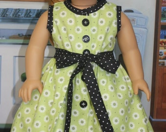 American Girl Style 1950s Wrap Skirt and Dress