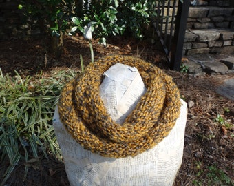 Yellow and Gray Cowl