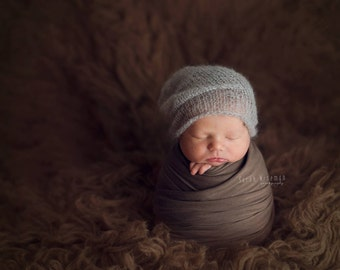 New !! Baby slouchy beanie Newborn slouchy hat Mohair hat Newborn slouch hat Slouchy baby hat Blu Red Green Slouchy cap newborn Photo prop