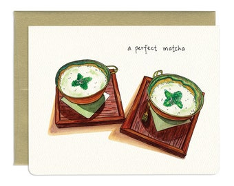 A Perfect Matcha Card