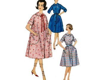 House dress sewing pattern Simplicity 3712  Bust 36