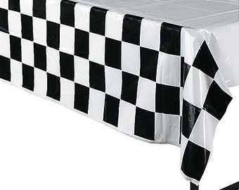My Racing Party Tablecloth  / Race Party/ Race car Party Theme / My race car theme / Race car