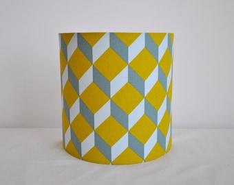 Wall light - mustard blue grey - half-cylindrical - half moon - square - lighting