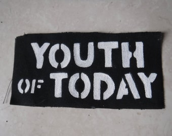 Youth Of Today Hardcore Punk Hand Painted Patch