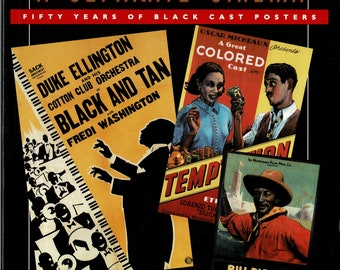 A Separate Cinema: Fifty Years of Black-Cast Posters - 1992 -  By John Kisch and Edward Mapp - paper back book