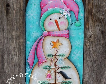 Its a Snow Day - by  Deb Antonick, Painting With Friends E Pattern