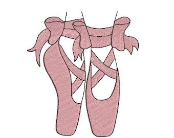 ballet design etsy rh etsy com Ballet Clip Art Ballet Shoes Drawing