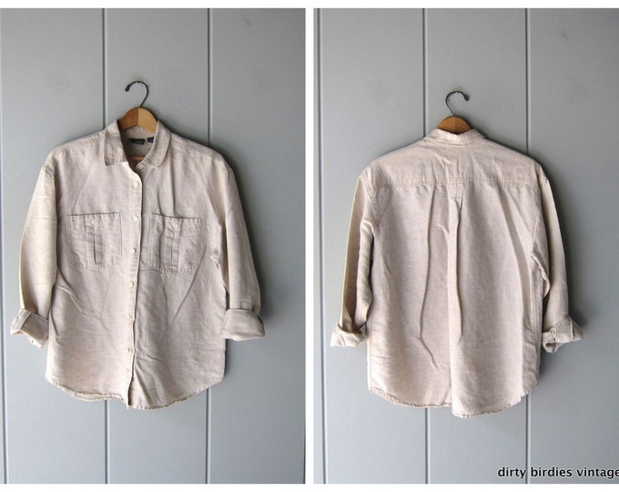Minimal Linen/Cotton Blouse