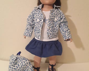 18 Inch Girl Doll Outfit #178