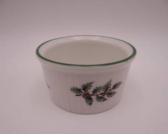 Spode Christmas Tree Made in England Ramekin - Spode Ramekin - 2 Available