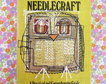 Classic 60s craft book - Newnes Complete Needlecraft A Practical and Comprehensive Guide - very useful tome for the retro crafter