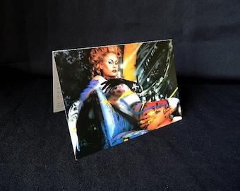 Playboy Top Model Monique Sluyter Body Paint by Herman Brood Postcard