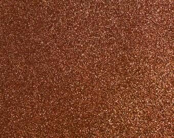 FINE Glitter Fabric. Brown. 100cm x 130cm. JR09171