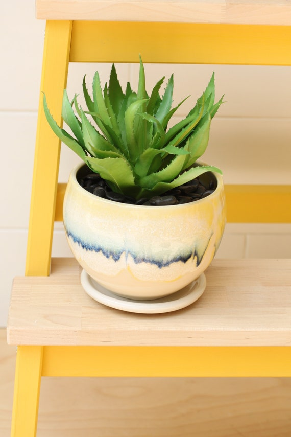boho planter // cactus planter // succulent pot // ceramic pot // flower pot